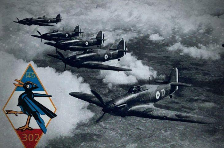 myśliwce, samoloty, wojna, dywizjon 302