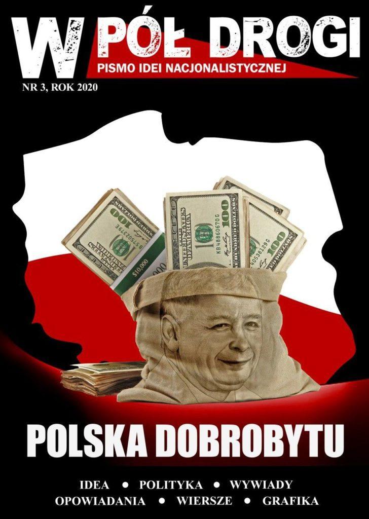 Okładka, Gazeta, W Pół Drogi