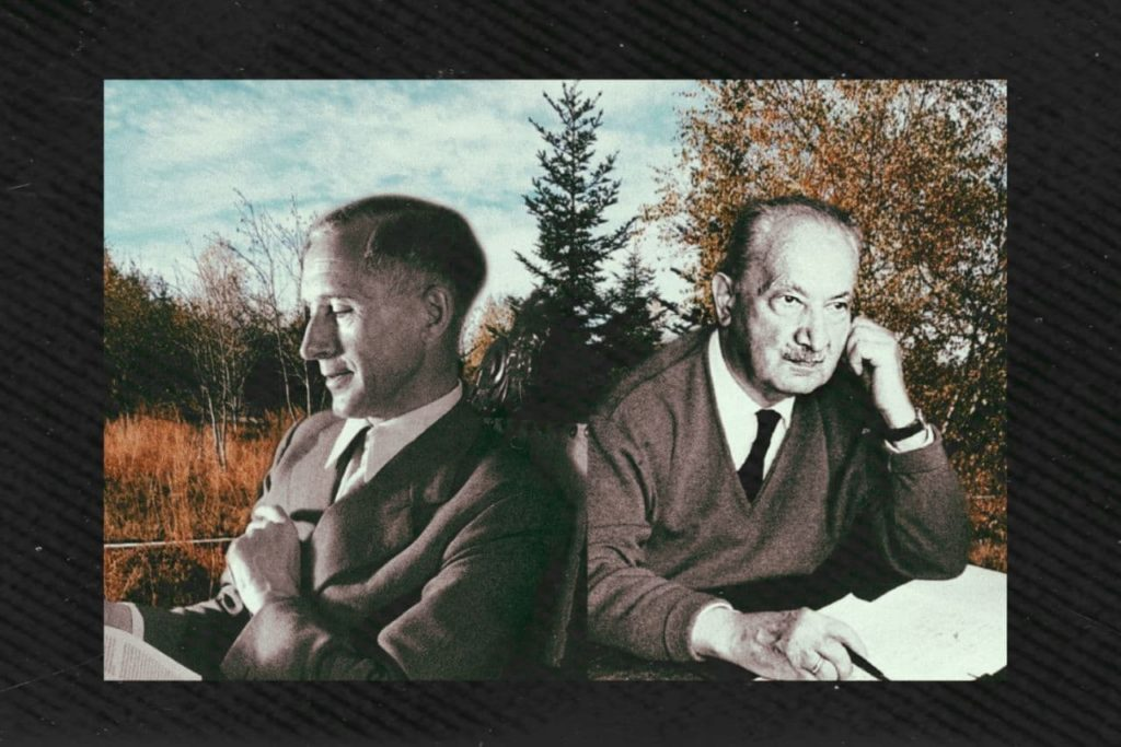 Ernst Jünger, Martin Heidegger, Jünger I Heidegger,
